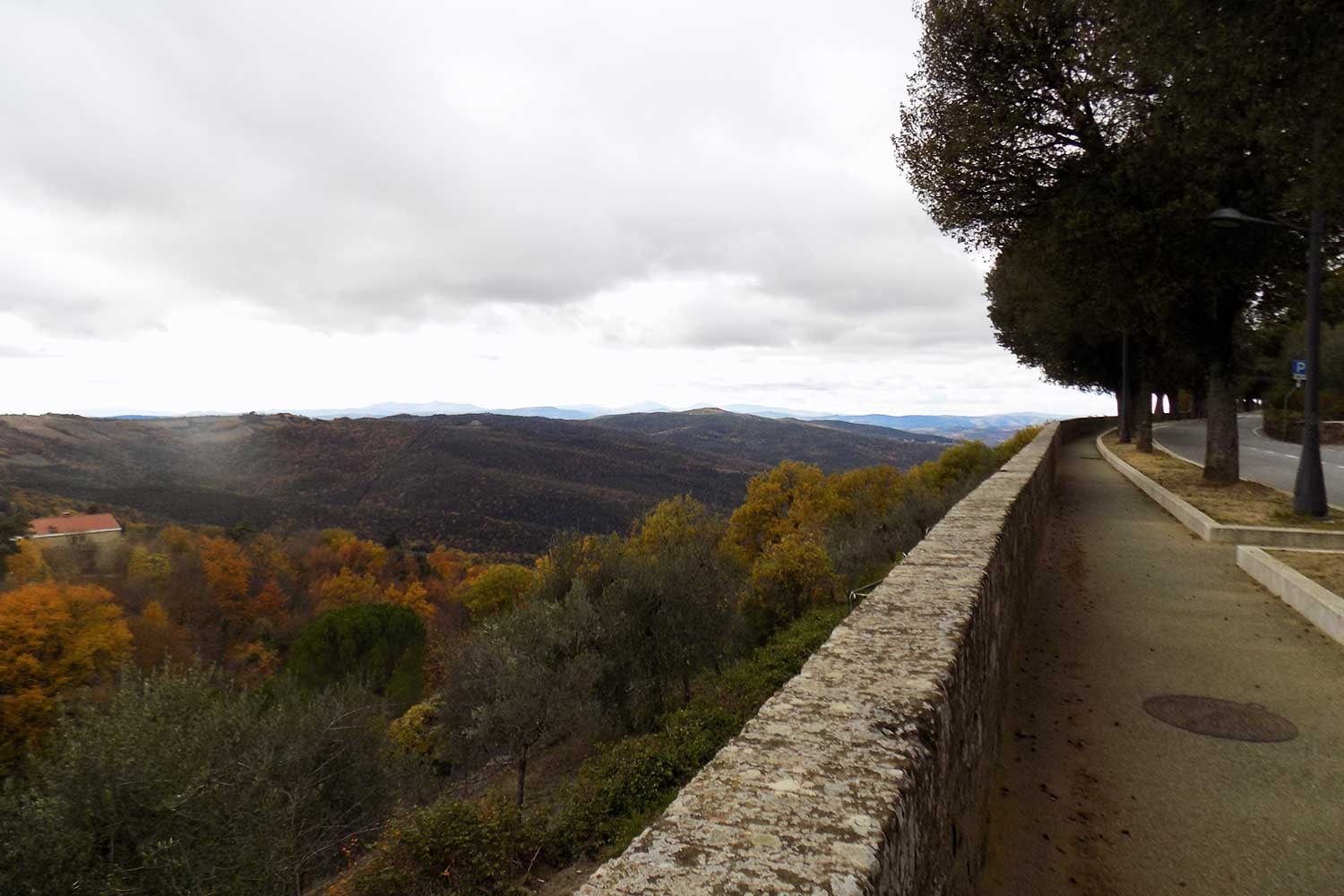 Montalcino val d'orcia