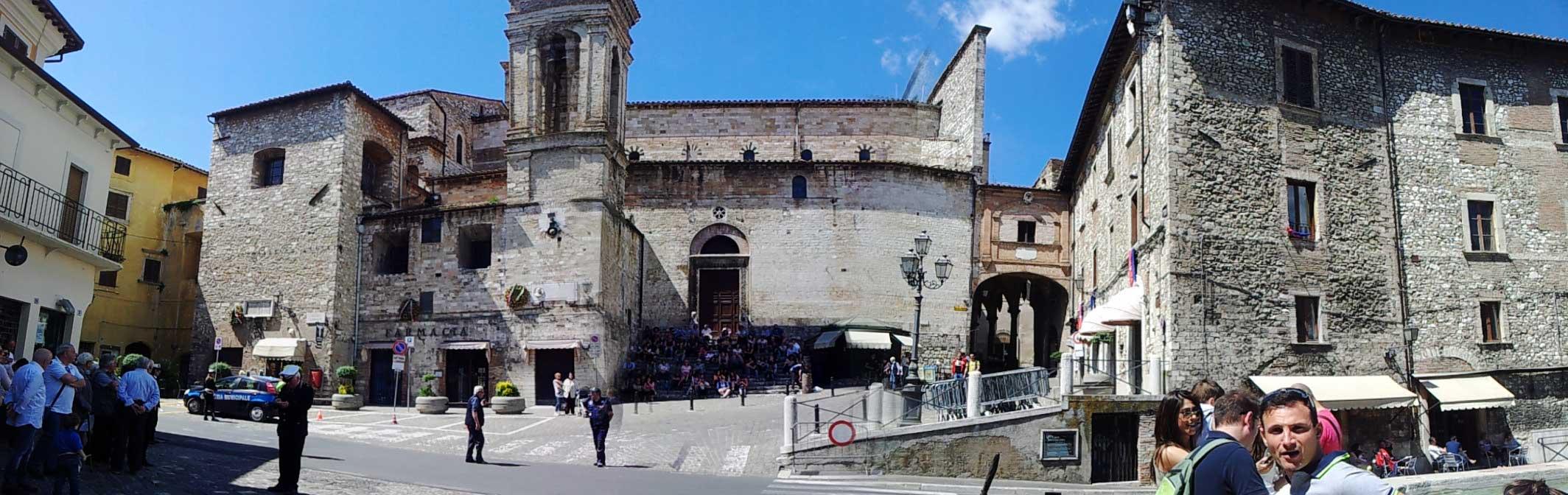 Narni, piazza Garibaldi
