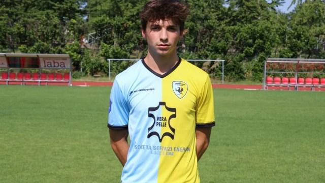 Arzignano Valchiampo, il difensore classe 2002 Fabio Cariolato