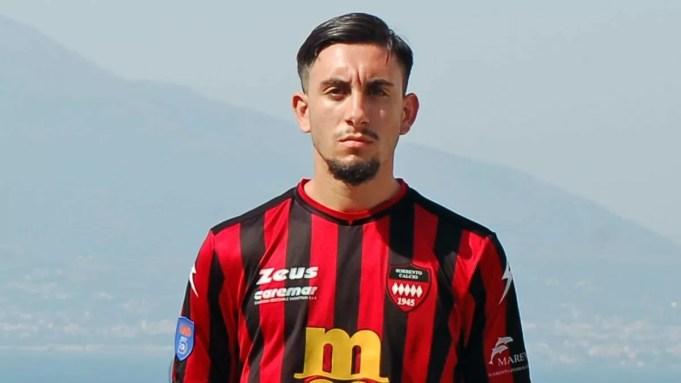 Sorrento, il difensore classe 2001 Bruno Calabrese