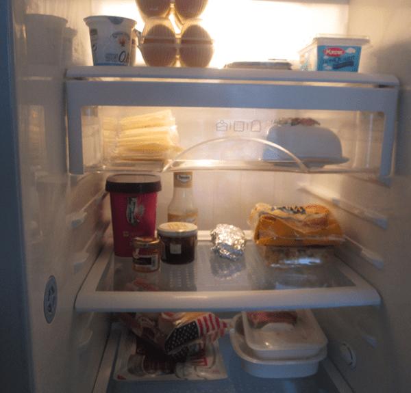 Pulizia del frigorifero
