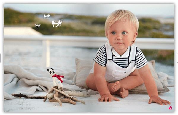 Moda bambini, stile navy: righe