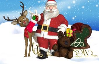 La storia di Babbo Natale, ebook per bambini
