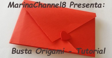 Busta Origami, video tutorial