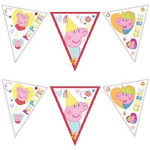 decorazioni festa di compleanno bambini peppa pig