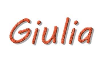 Nome per bambina con significato, Giulia
