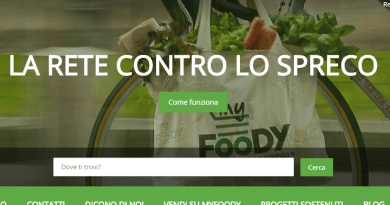 MyFoody Start up alimentare