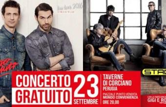 Mondo Convenienza riapre a Perugia, concerto di Stadio e Zero Assoluto