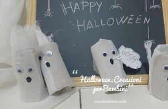 Halloween, fai da te le decorazioni con i bambini