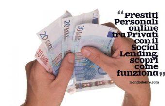 Prestiti Personali online tra privati con il Social Lending