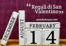 Regali di San Valentino, idee simpatiche