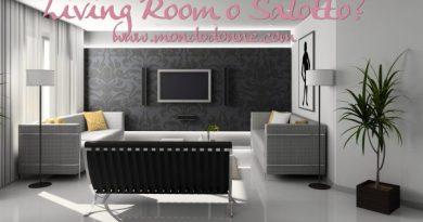 living room o salotto