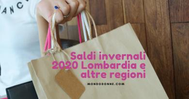 Saldi invernali 2020 Lombardia