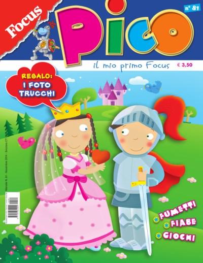 Migliori riviste per bambini, scontatissime focus junior pico