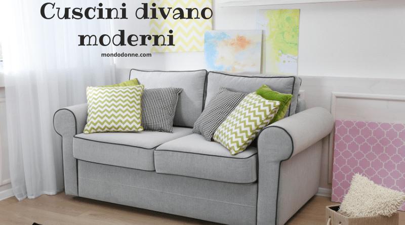 Cuscini divano moderni per arredare casa con gusto