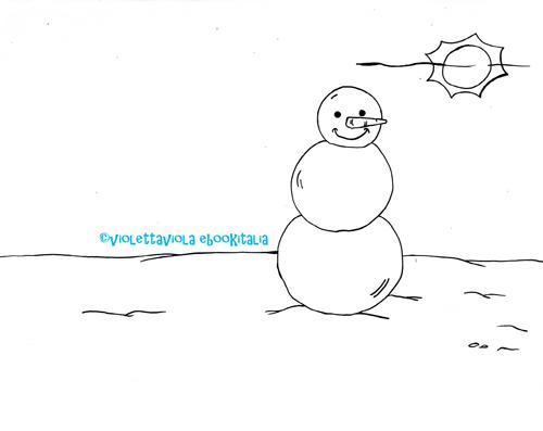 Neve Disegni Con La Neve E Filastrocca Mondo Fantastico Com