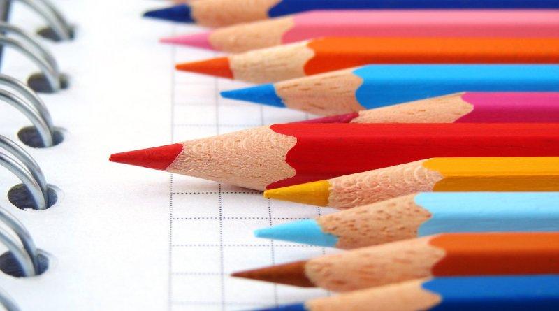 matite per disegni da colorare