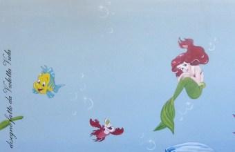 Sirenetta: personaggi Disney per decorare cameretta
