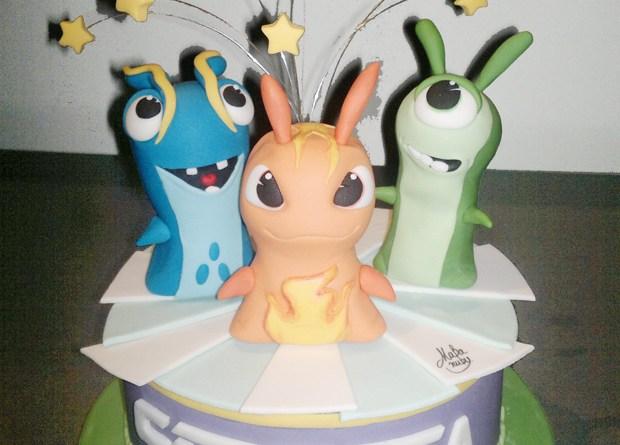 torta compleanno slug Mabanuby per MondoFantastico