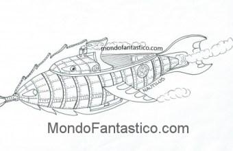 Leggi una storia e colora: il Nautilus e il Capitano Nemo