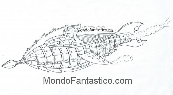 Il nautilus e il capitano nemo