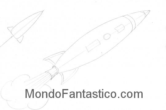 Come disegnare un razzo