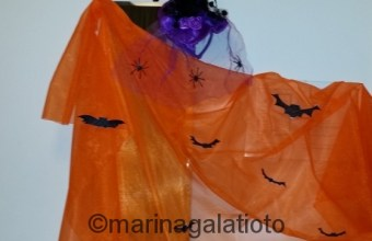 Halloween decorazioni fai da te, economiche low cost