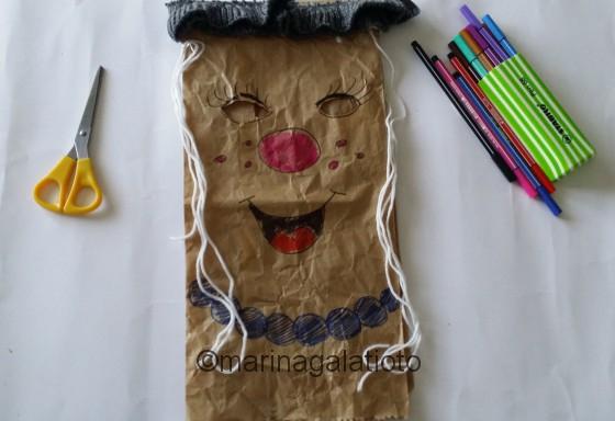 Maschera di Carnevale per bambini fai da te