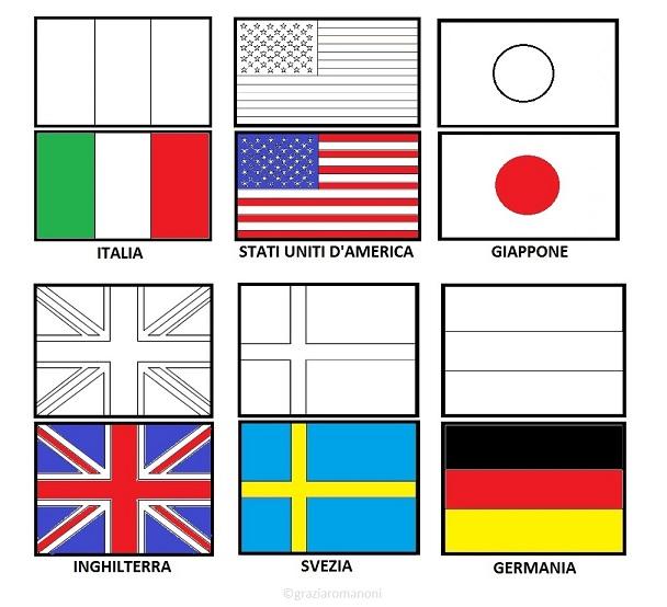 Bandiera Inglese Da Colorare.Bandiera Significato E Utilizzo Mondofantastico Com