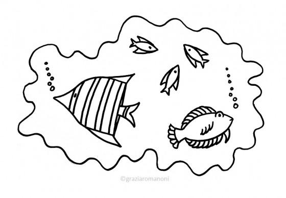 Pesci da colorare