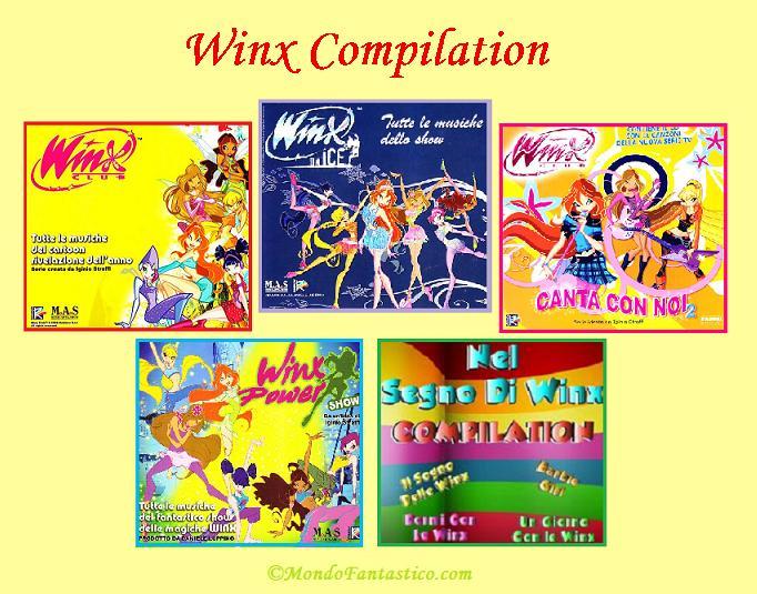 Sigle cartoni animati winx