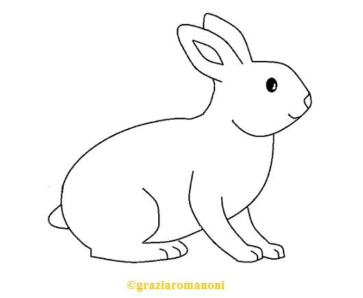 Disegni Da Colorare Animali Il Coniglio Mondofantastico Com