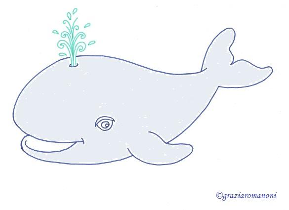 Disegni Per Bambini Animali La Balena