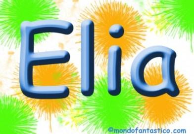 Elia, colora il nome su MondoFantastico