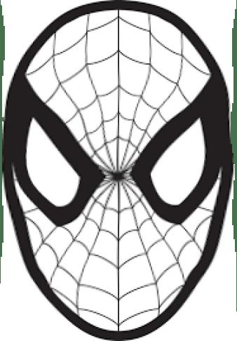 maschera carnevale uomo ragno