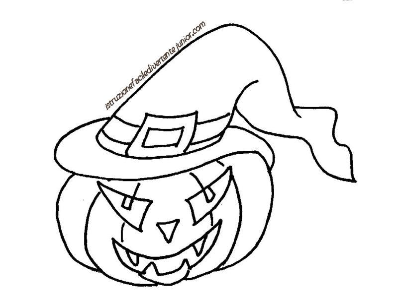 Disegni Di Halloween Da Colorare Mondofantasticocom