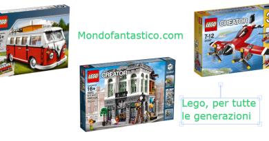 Lego Creator Volkswagen e altri giochi di costruzione