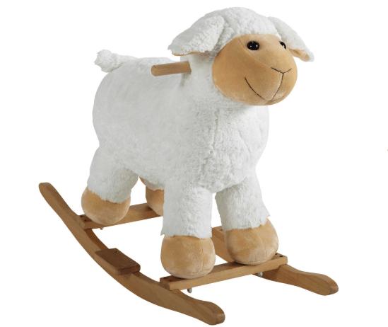 cavallo a dondolo pecorella a dondolo