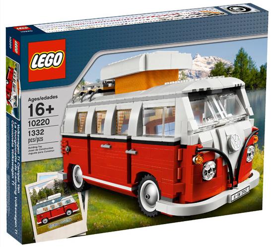 Lego pulmino Volkswagen
