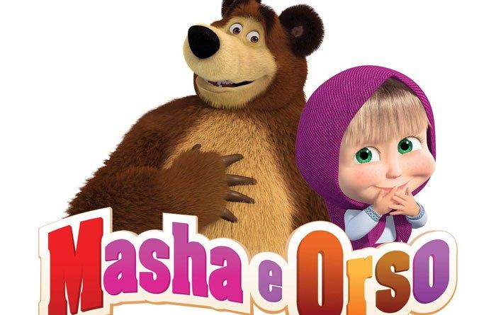 Masha e Orso, il cartone animato più amato