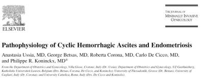 Ussia et all. Haemorrhagic ascites