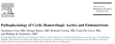Ussia et all. Haemorrhagic ascites