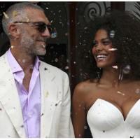 Vincent Cassel preferisce Tina Kunakey alla Bellucci... e la sposa!