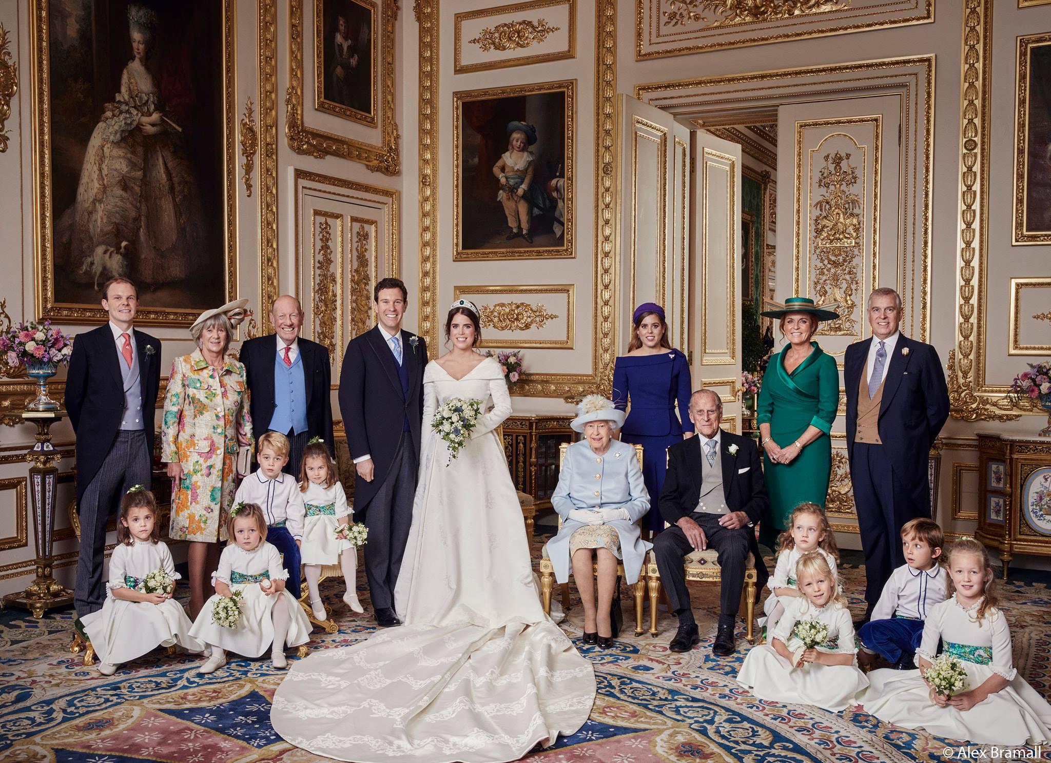 Royal wedding 2, le foto ufficiali del matrimonio di Eugenie di York