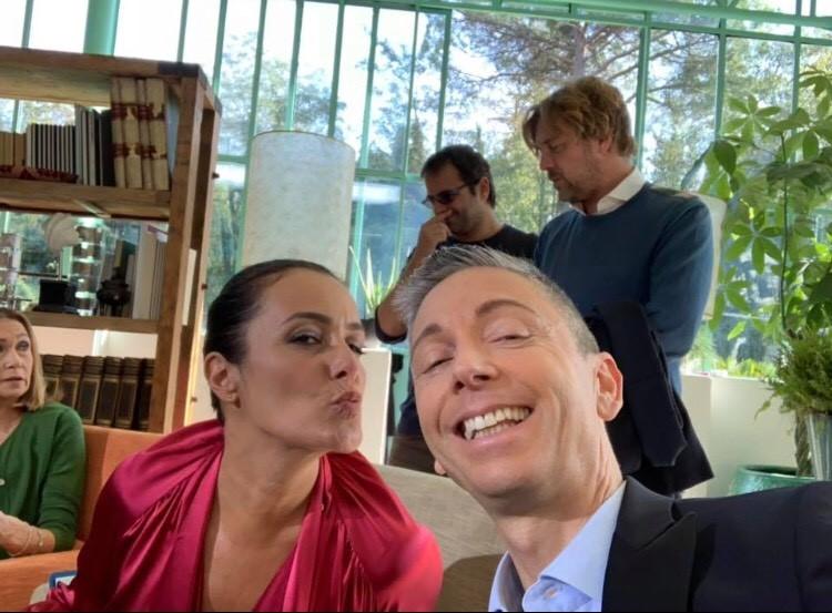 Mech – Capua: in un selfie tutta la loro amicizia