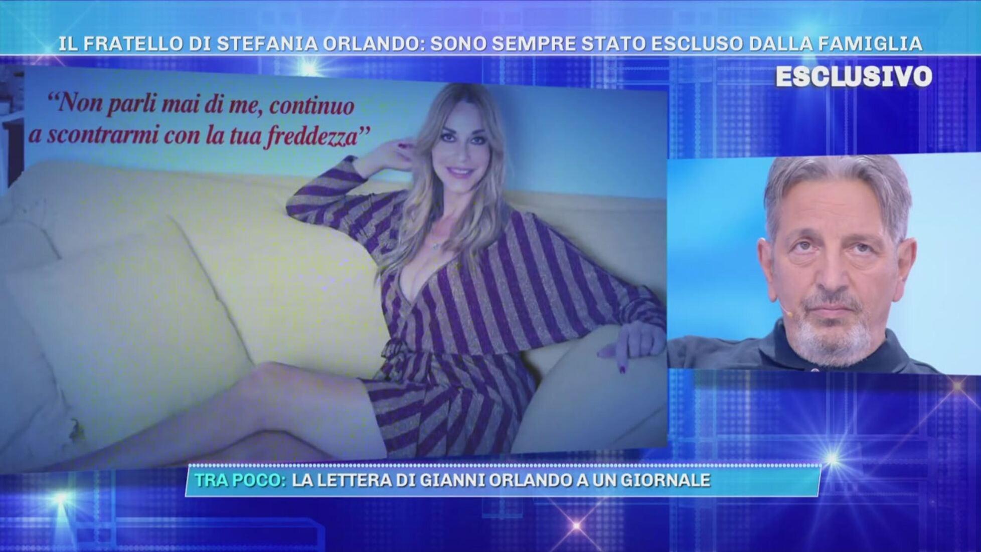 Stefania Orlando, lei e il GF Vip ignorano il fratello Gianni