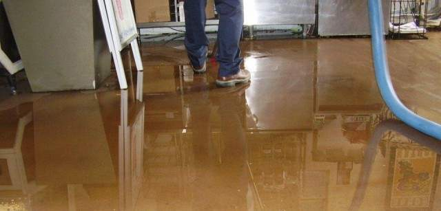 water leak problem