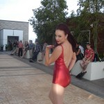 Pinups by the Pool Fashion Show