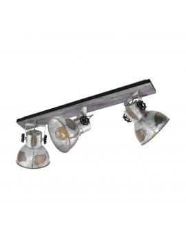 rustic vintage spotlight ceiling light