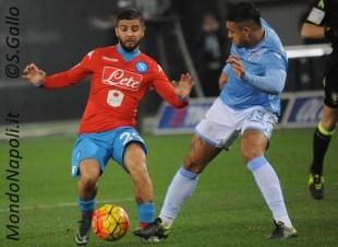 Insigne Mauricio Lazio-Napoli
